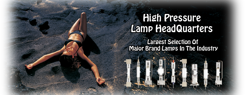 High Pressure Tanning Lamps